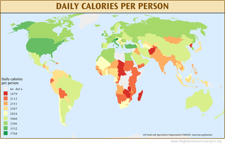 Daily Calories per Person